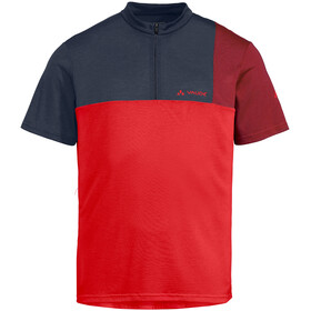 VAUDE Tremalzo V Shirt Herren mars red